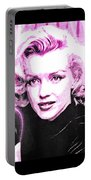Marilyn Monroe - Pink Portable Battery Charger