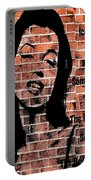 Marilyn On Brick Portable Battery Charger