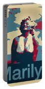 Marilyn Poster Portable Battery Charger