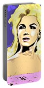 Marilyn What A Beautiful Girl Portable Battery Charger