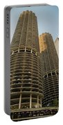 Marina City Chicago Portable Battery Charger