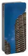 Marina City Morning Portable Battery Charger
