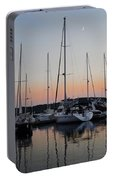 Marina Sunset Afterglow Portable Battery Charger