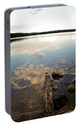 Marion Lake Reflections Portable Battery Charger