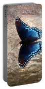 Mariposa Azul Portable Battery Charger