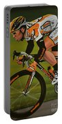 Mark Cavendish Portable Battery Charger by Paul Meijering