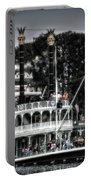 Mark Twain Riverboat Frontierland Disneyland Vertical Sc Portable Battery Charger