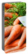 Market Carrots By Diana Sainz Portable Battery Charger