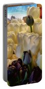 Market Flowers Portable Battery Charger