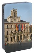 Market Place Weimar - Unesco Heritage Site Portable Battery Charger