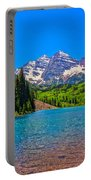 Maroon Bells In Color Portable Battery Charger