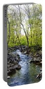 Marsh Creek In Spring Portable Battery Charger