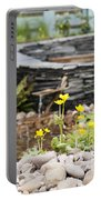 Marsh Marigolds Portable Battery Charger