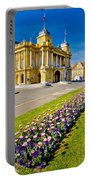 Marshal Tito Square In Zagreb Portable Battery Charger