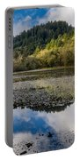 Marshall Pond In Autum Portable Battery Charger