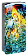 Marshmallow Fire Abstract Portable Battery Charger