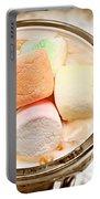 Marshmallow Peach Yogurt Parfait Portable Battery Charger