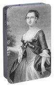 Martha Washington (1732-1801) Portable Battery Charger