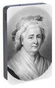 Martha Washington (1732-1802) Portable Battery Charger