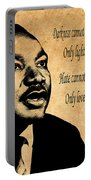 Martin Luther King Jr 1 Portable Battery Charger
