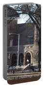 Martin Luther King Jr. And Sixteenth Street Baptist Church Portable Battery Charger