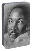 Martin Luther King Jr Portable Battery Charger