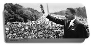 Martin Luther King The Great March On Washington Lincoln Memorial August 28 1963-2014 Portable Battery Charger