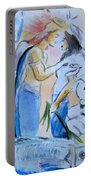 Mary And Gabriel Portable Battery Charger
