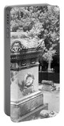 Mary And John Tyler Memorial Near Infrared Black And White Portable Battery Charger
