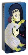 Mary And The Baby Jesus Portable Battery Charger