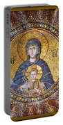 Blessed Virgin Mary And The Child Jesus Portable Battery Charger