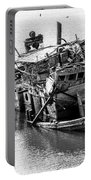 Mary D Hume Shipwreck - Rogue River Oregon Portable Battery Charger