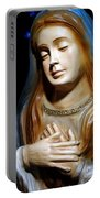 Mary In Manger Portable Battery Charger