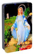 Mary In Sunlight Portable Battery Charger