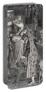 Mary Magdalene At The Door Of Simon Portable Battery Charger