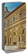 Mary Of Bistrica Shrine Architecture  Portable Battery Charger