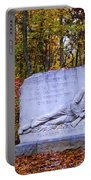 Maryland Monument At Gettysburg Portable Battery Charger