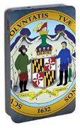 Maryland State Seal Portable Battery Charger