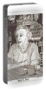 Mary In Marys Bar Cerrillos New Mexico Portable Battery Charger