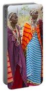 Masai Women Kenya Portable Battery Charger