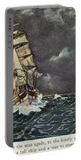Masefield Sea Fever, 1902 Portable Battery Charger