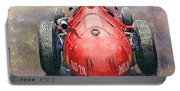 Maserati 250f Back View Portable Battery Charger
