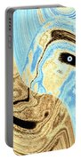 Masked- Man Abstract Portable Battery Charger