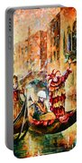 Masks Of Venice Portable Battery Charger