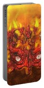 Masque Of The Red Death Portable Battery Charger