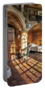 Master Bedroom At Fonthill Castle Portable Battery Charger