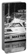 Master Of The Harbor Portable Battery Charger by Melinda Ledsome