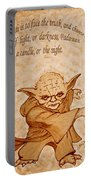 Master Yoda Wisdom Portable Battery Charger