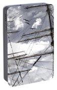 Masts Of Sailing Ships Portable Battery Charger