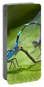 Mating Damselflies Portable Battery Charger